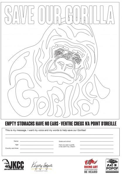 Gorilla Art Launch in the Democratic Republic of Congo